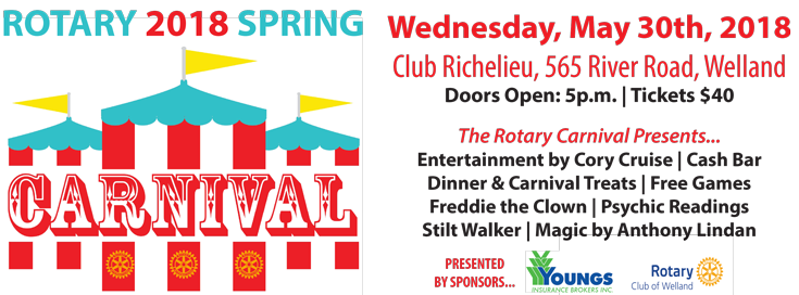 Rotary 2018 Spring Carnival, Youngs Insurance, Ontario