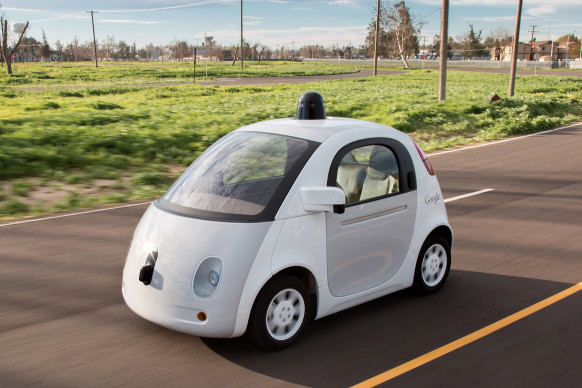 this is the car Google plans to eliminate humans driving motor vehicles with, in just five short years