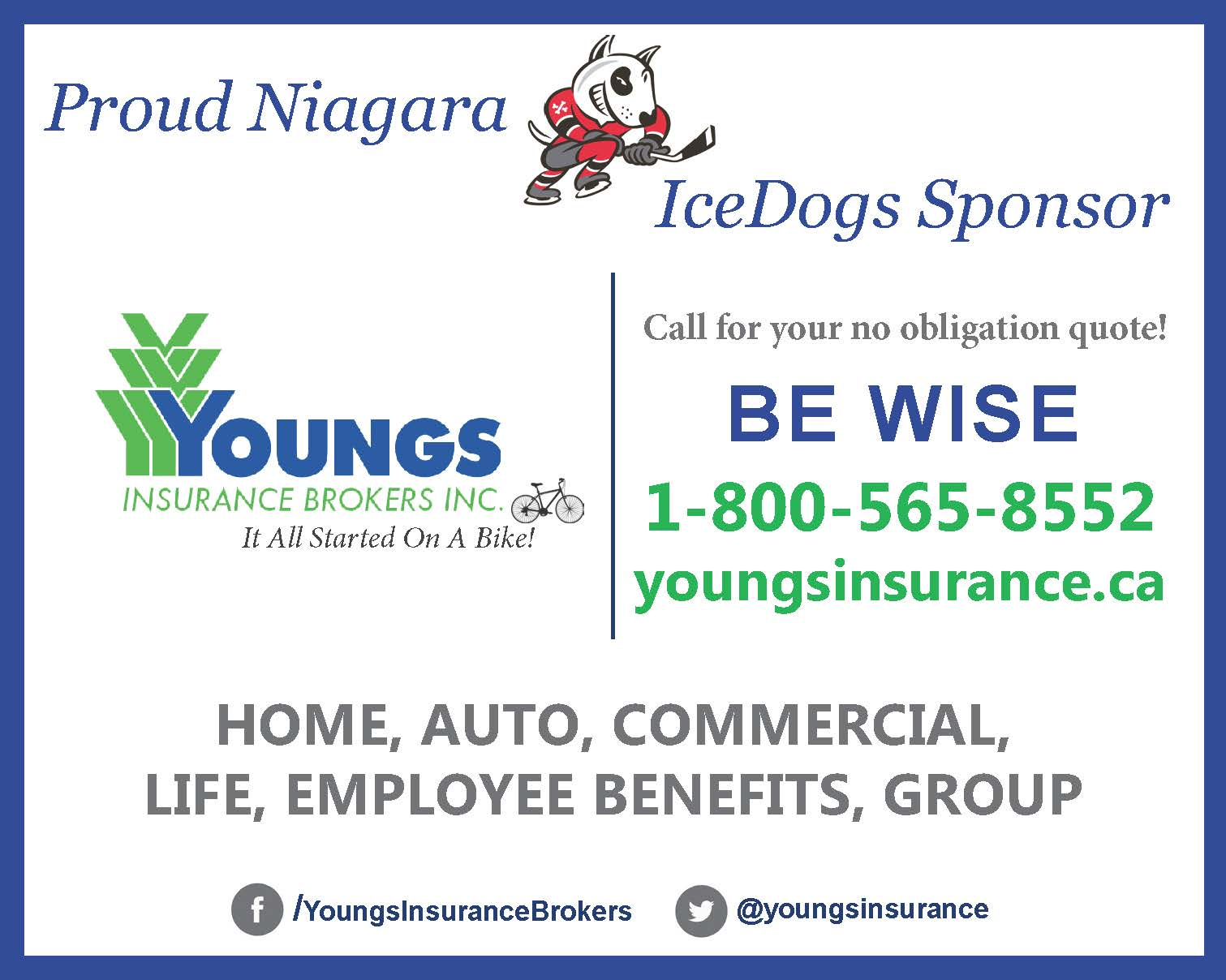Proud Niagara Ice Dogs Sponsor