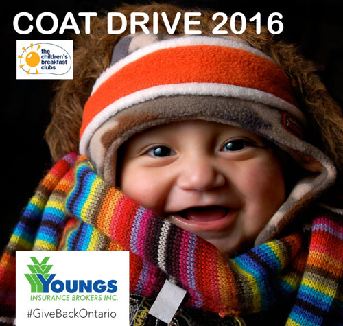 youngs insurance coat drive