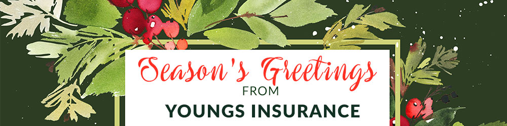 Happy Holidays, Youngs Insurance, Ontario