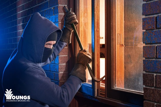 Break-Ins & Your Home Insurance, Youngs Insurance, Ontario