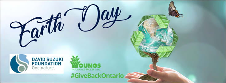 Earth Day - April 22, 2019, Youngs Insurance