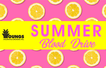 Summer Blood Drive, Youngs Insurance