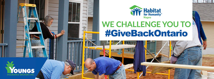 Give Back - Habitat for Humanity
