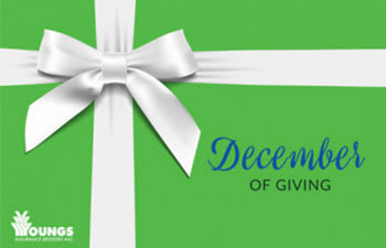 December of Giving, Youngs Insurance