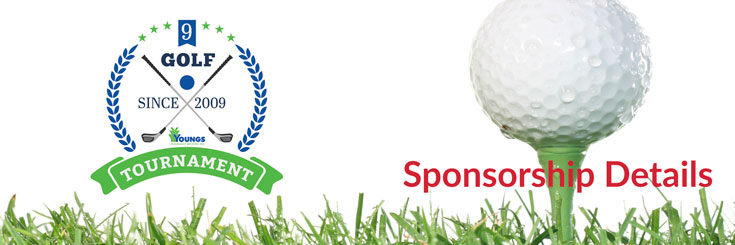 Youngs Insurance Charity Golf Tournament, Sponsorship details