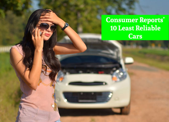 10 Least Reliable Cars, Youngs Insurance