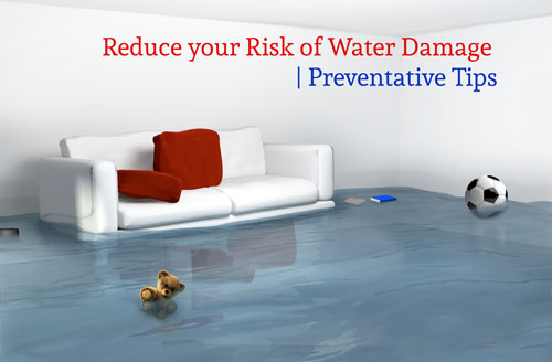 reduce your risk of water damage, youngs insurance