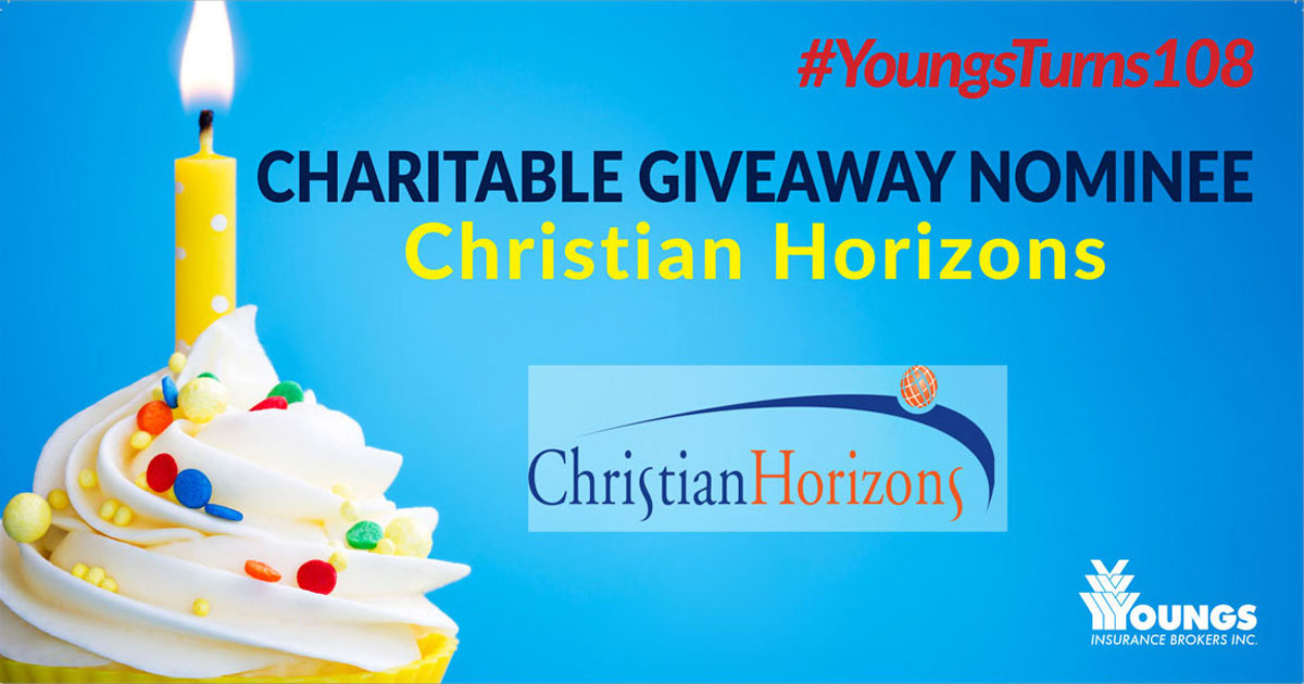 Youngs Insurance Brokers' 108th Birthday Charitable Nominee, Christian Horizons